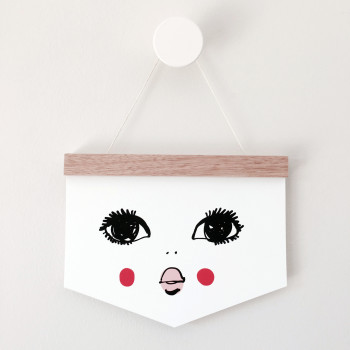 Doll Face Flag